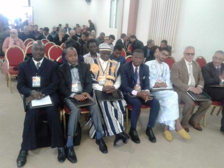 Les participants lors de cette première journée le 19 mars 2018.