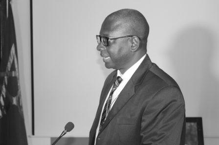 Mor Diakaté, Représentant d'Alphadev, Organisation membre, du CNDREAO et chef de la délégation des acteurs africains